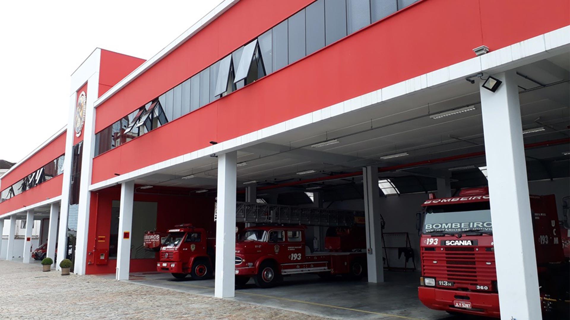 Doações e Manutenção do Corpo de Bombeiros Voluntários de Joinville