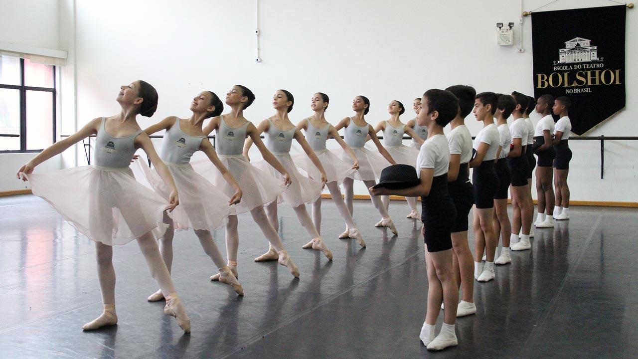 Patrocínio à Escola do Teatro Bolshoi no Brasil